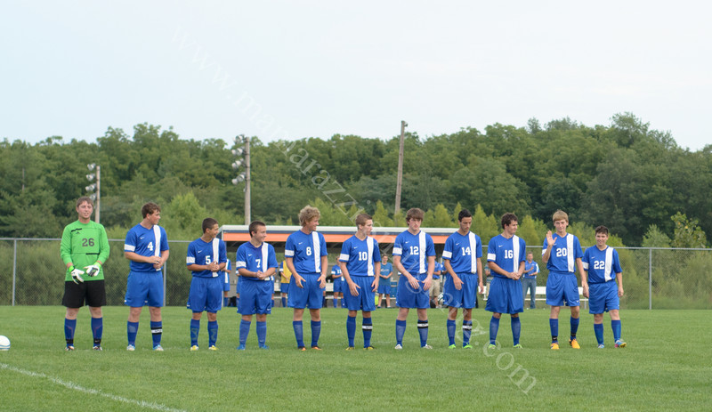 August 22, 2013 Carroll High School Starting Line up * Soccer * Photo #8250